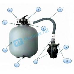 Repuestos depuradora GRE FS500