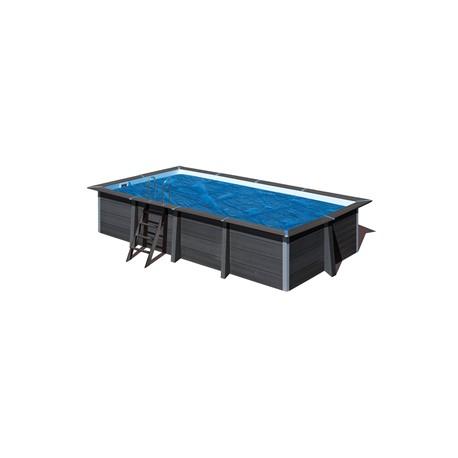Cubierta isotérmica GRE para piscina de composite rectangular  606x326 cm- CVKPCOR60