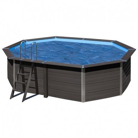 Cubierta isotérmica GRE para piscina de composite ovalada 804x386 cm- CVKPCO80