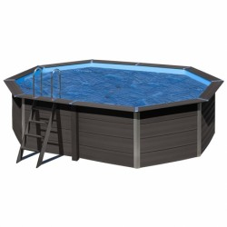 Cubierta isotérmica GRE para piscina de composite ovalada 664x386 cm- CVKPCO66