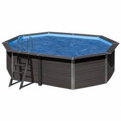 Cubierta isotérmica GRE para piscina de composite ovalada 524x386 cm- CVKPCO52