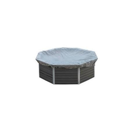 Cubierta de invierno GRE para piscinas de composite redonda Ø 410  cm – CIKPCO41