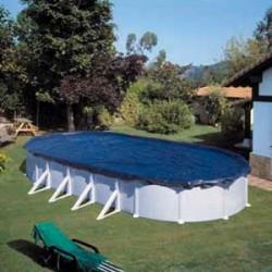 Cubierta de invierno GRE para piscinas 500x300