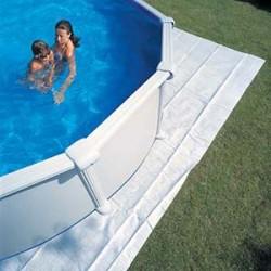 Manta Protectora GRE de 400x400 para piscina