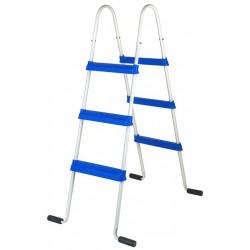 Escalera de tijera GRE 120 cm para piscinas de superficie - 2x3 peldaños
