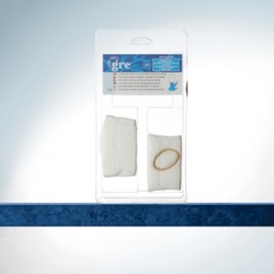 Filtros para limpiafondos tipo Ventury - 2 unidades