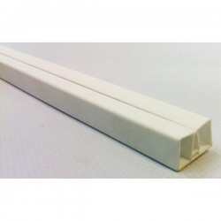 Perfil superior flexible blanco - 1440mm - PCF