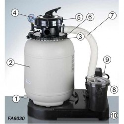 Repuestos depuradora FA6030