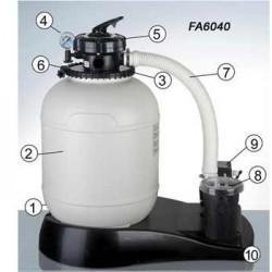 Repuestos depuradora GRE FA6040