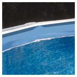 Liner azul 40/100 - Sistema Overlap - Piscina Ovalada 610x375x132