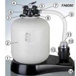 Repuestos depuradora GRE FA6080